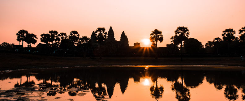 Cambodia Action- beautiful landscape image of Cambodia