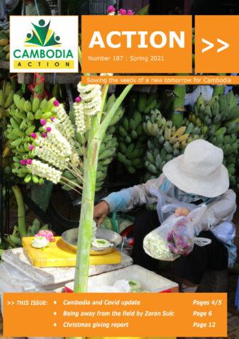 Cambodia Action Magazine Cover 187- Spring 2021