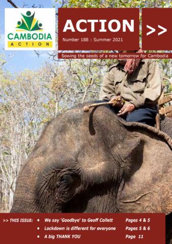 Cambodia Action Magazine Summer 2021 cover